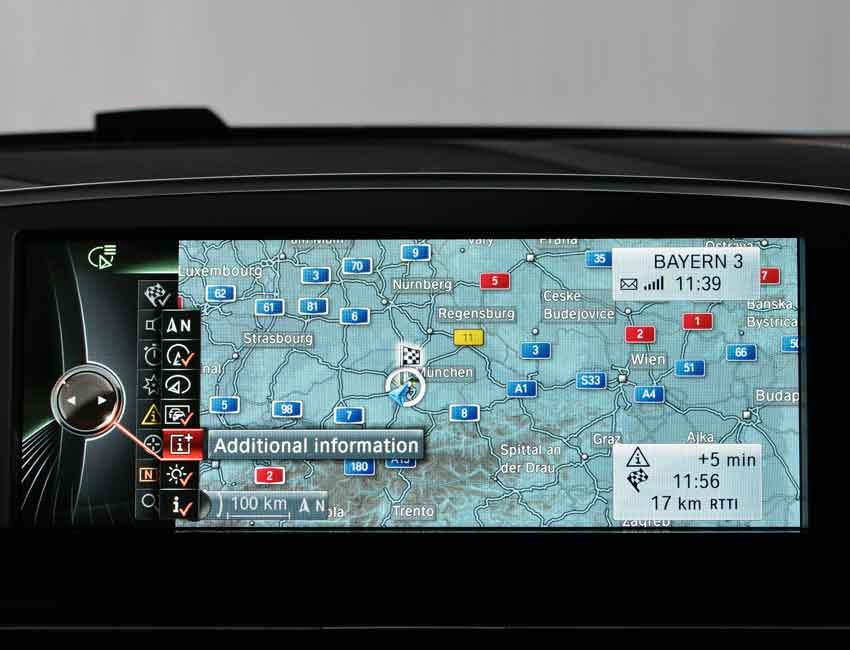 BMW Navigation Complete Guide Directional Icon Map and Route Views