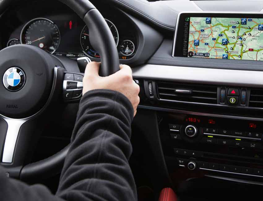BMW Navigation Complete Guide Information Icon Map Customization
