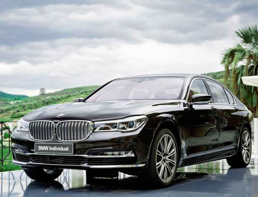 BMW 7 Series Sedan Maintenance 2017 and Later