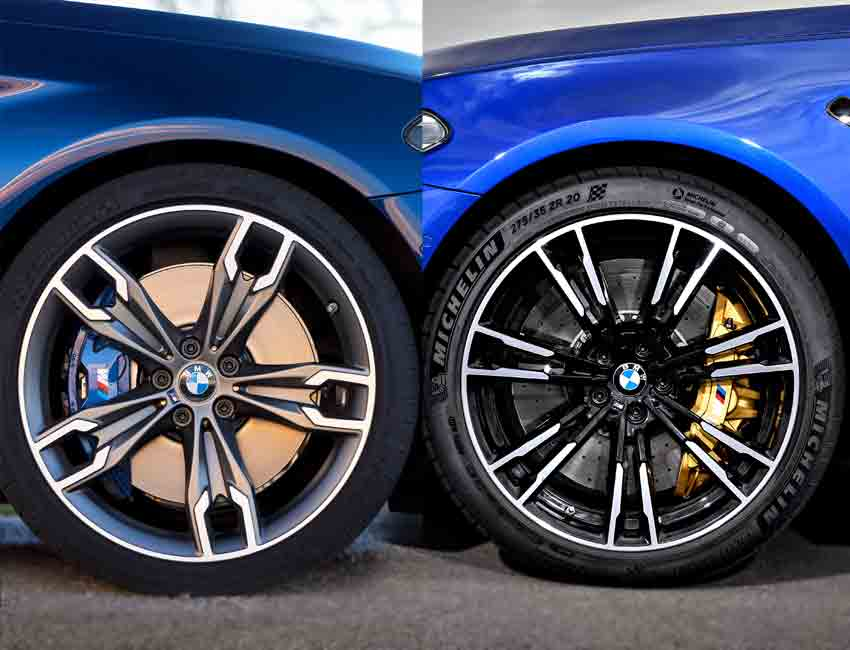 BMW Carbon Ceramic Brakes Versus BMW M Compound Brakes