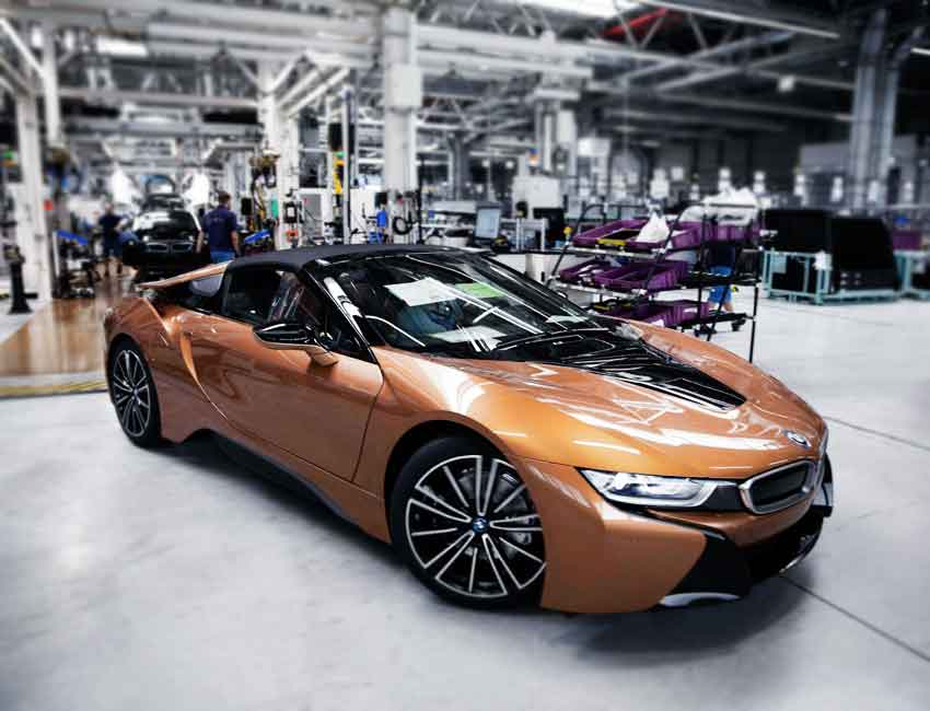 BMW Maintenance and Warranty Guide BMW i8 Convertible