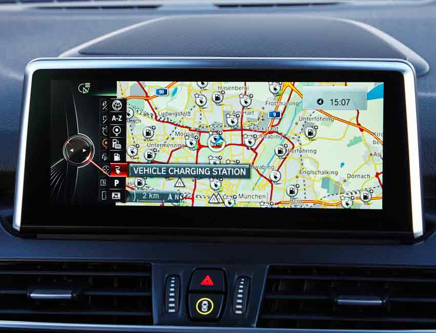 BMW Navigation Complete Guide Pin Drop Icon Point of Interest