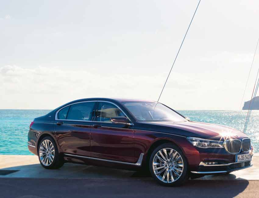 BMW 7 Series Limited Edition Swan Maintenance 2017 and Later