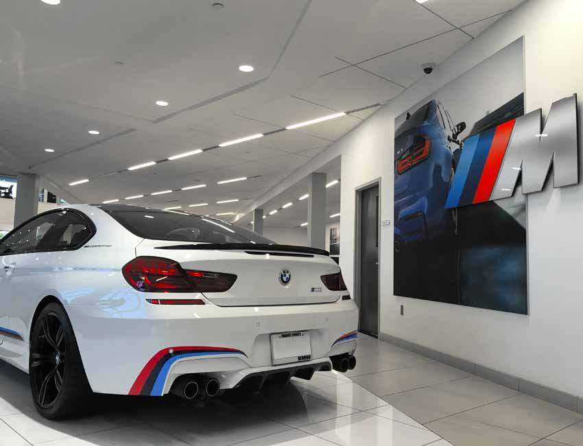 BMW M6 Maintenance M Competition Racing Stripes
