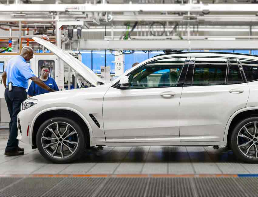 BMW X3 Maintenance Service 2017 and Later