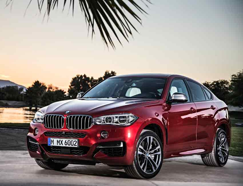 BMW X6 Maintenance 2017 and Later