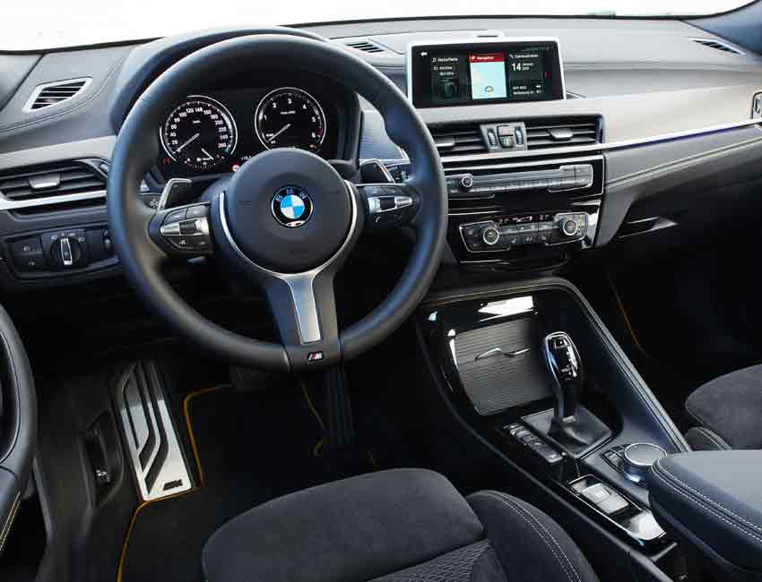 BMW X2 Maintenance Interior 2017