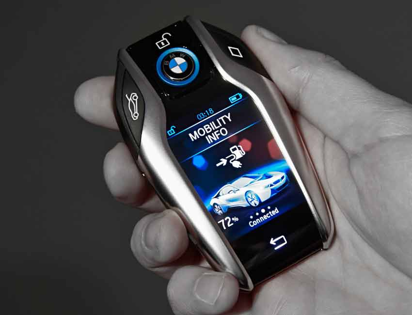 BMW Best Technology Package LCD Display Key