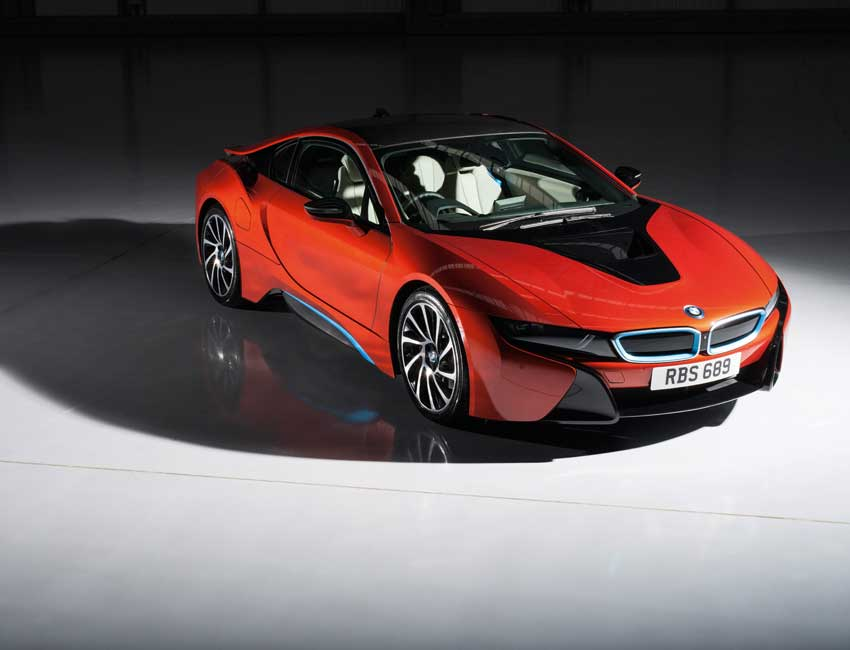 BMW i8 Colors and Special Edition Protonic Red
