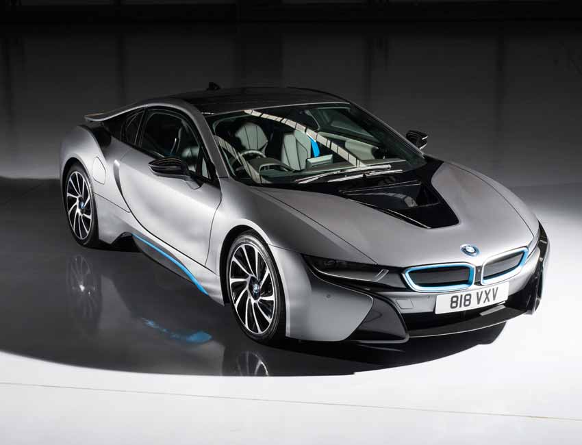 BMW i8 Interior Design Protonic Dark Silver Edition