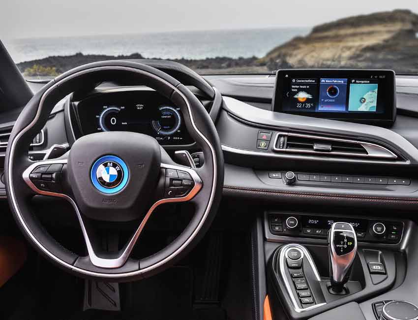 BMW i8 Performance and Technology Navigation
