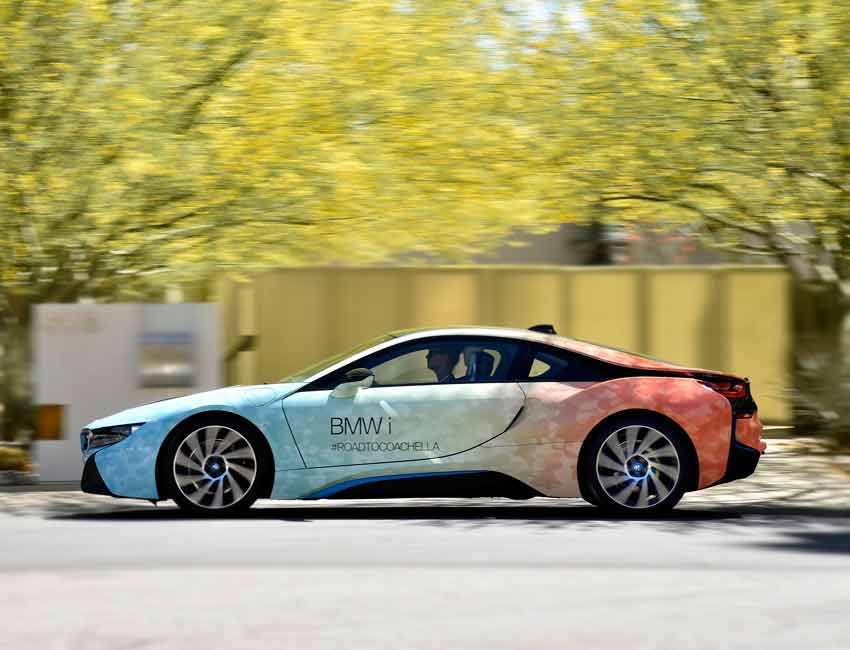 BMW i8 Price Color Exterior Side View