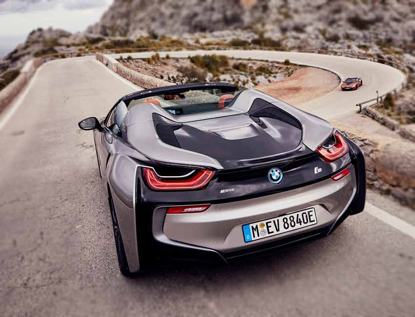 BMW i8 Price Color Exterior Rear View