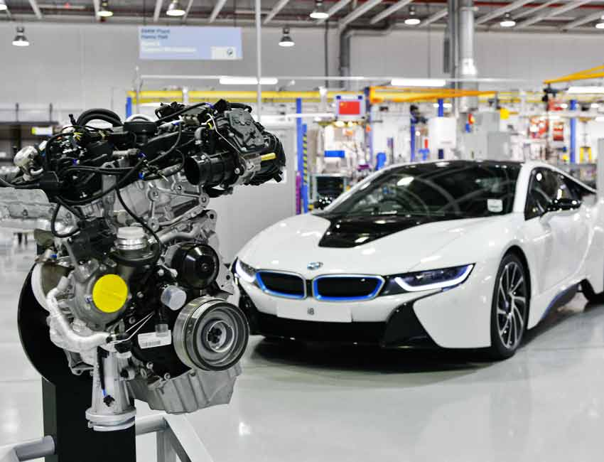 BMW i8 Specs Engine