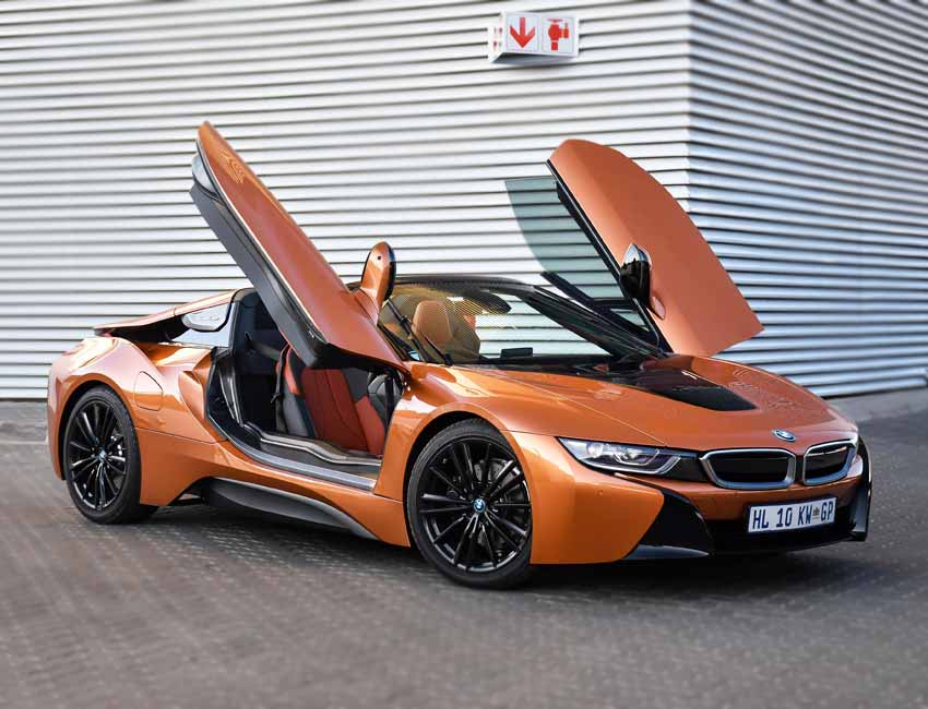 BMW i8 Price Color Exterior Chemically Hardened Glass