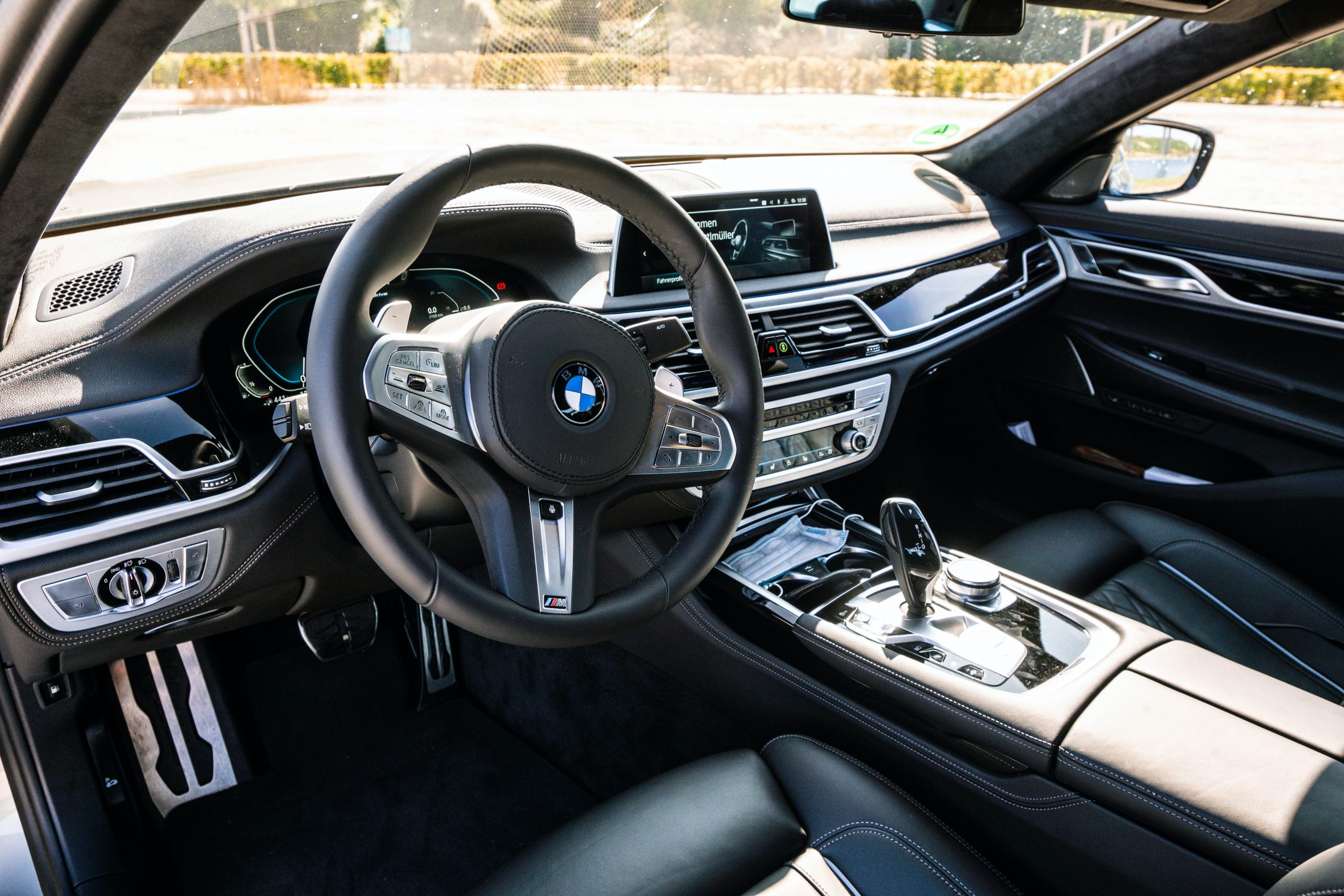 bmw g series interior