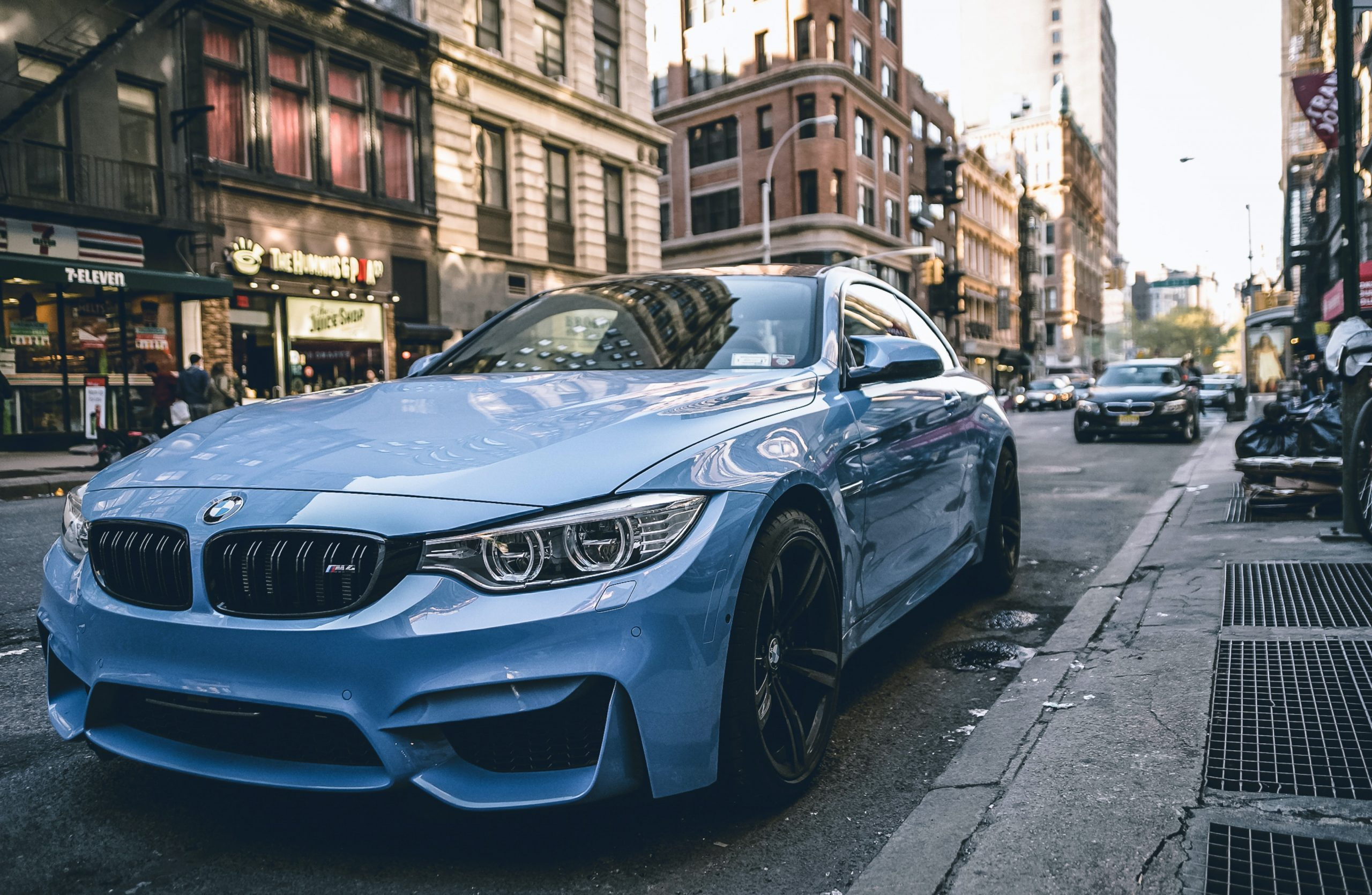 bmw m4 in town