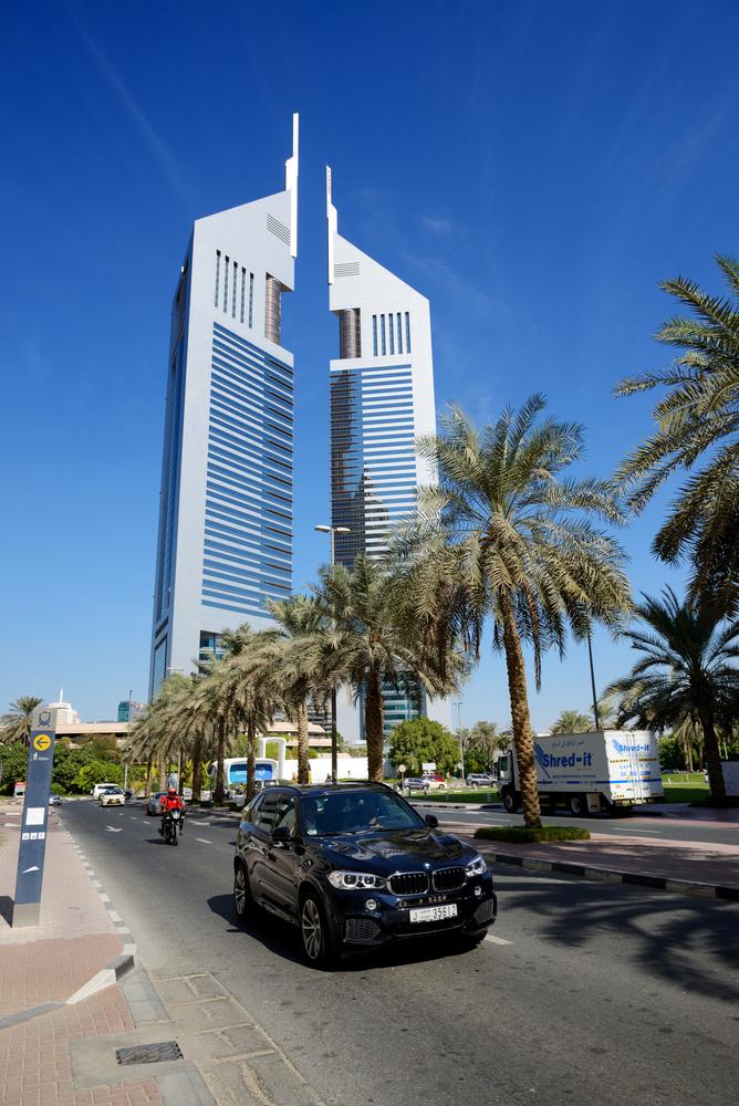 DUBAI, UAE BMW X5 SUV