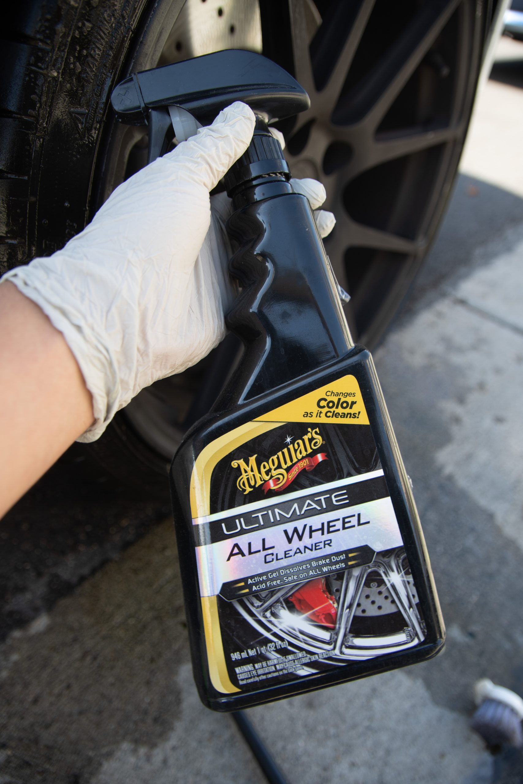 meguiars alloy wheel cleaner